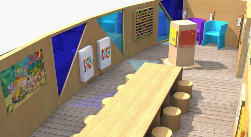 Centre-commercial-beaugrenelle-projet-espace-enfant